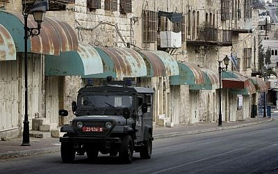 IDF troops on patrol in the West Bank, file photo (Photo credit: Miriam Alster/Flash90)
