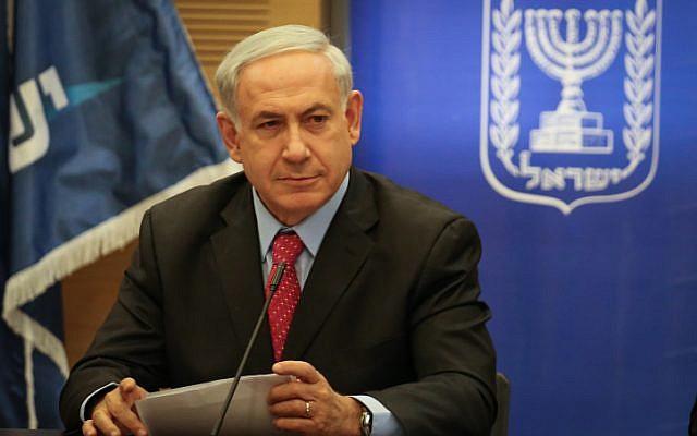 Prime Minister Benjamin Netanyahu on Monday, June 9, 2014 (photo credit: Hadas Parush/Flash90)