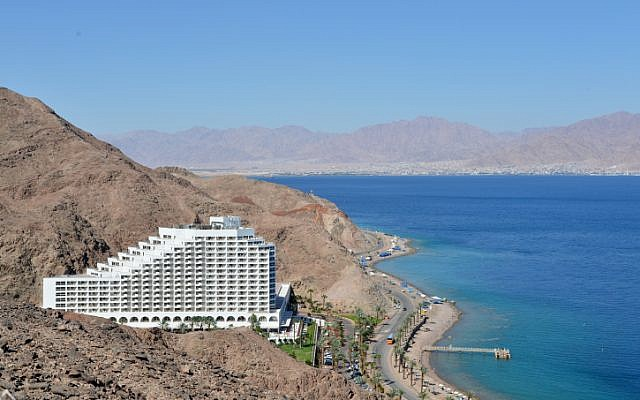 Illustrative photo of an Eilat hotel,  June 1, 2014. (photo credit: Yossi Zeliger/Flash 90)
