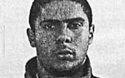 A picture released on June 1, 2014 shows the 29-year-old suspected gunman in the Brussels Jewish Museum attack, French-Algerian citizen Mehdi Nemmouche. (photo credit: AFP)