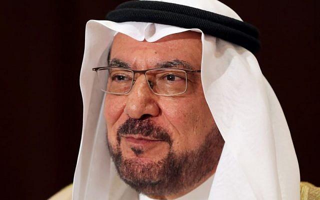 Iyad Madani, the secretary-general of the Organization of Islamic Cooperation (photo credit: AP/Hasan Jamali)