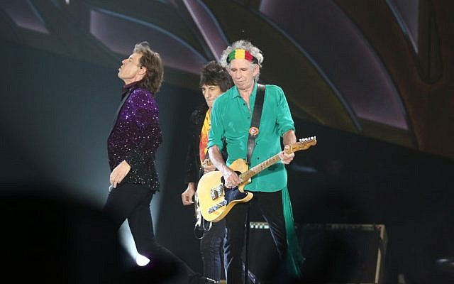 The Rolling Stones perform in Tel Aviv, June 4, 2014. (Photo credit: Orit Pnini)