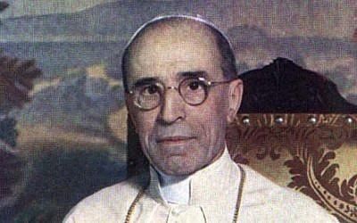Pope Pius XII (photo credit: Wikipedia commons/Maximus0970/File)