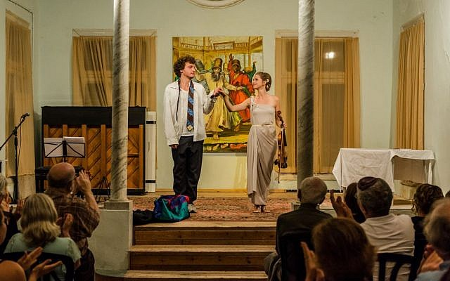 Naomi Kern, a Dutch jazz singer, composer and viola player stepped in to play a key musical role, alongside American actor Clayton Fox. (courtesy)