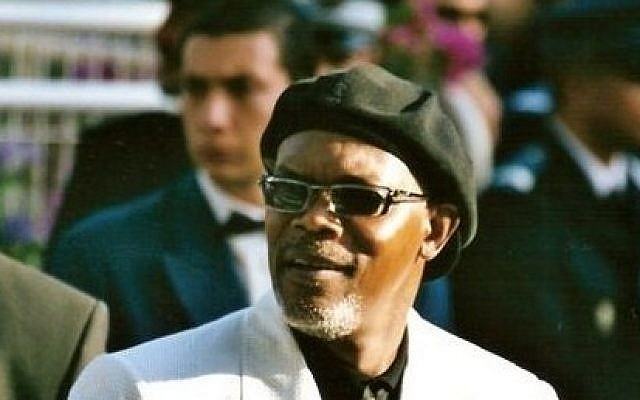 Actor Samuel L. Jackson (photo credit: Wikimedia Commons/ Georges Biard CC BY-SA 3.0}