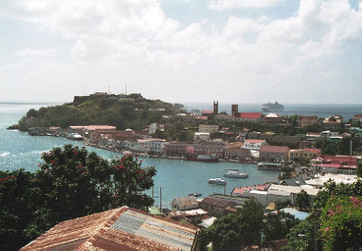 St. George's, capital of Grenada (photo credit: Yrithinnd/Wikipedia Commons)