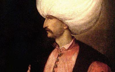 Ottoman Sultan Suleiman the Magnificent (photo credit: Wikimedia Commons, public domain)