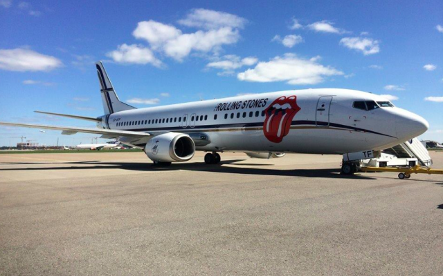 The Rolling Stones are due to touch down in Israel's Ben Gurion Airport late Monday night (Courtesy The Rolling Stones Facebook page)