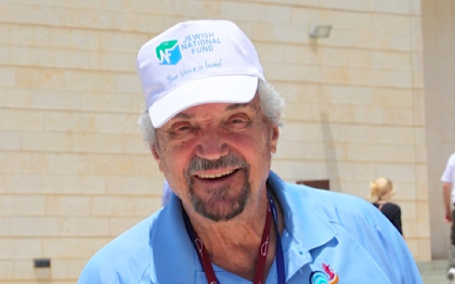 Actor and musician Hal Linden, perhaps best known for his Emmy-winning role in the 1970s sitcom, 'Barney Miller,' has been a JNF spokesperson for 17 years. (photo credit: Courtesy Jewish National Fund)