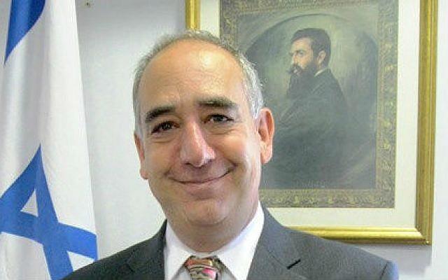 Israeli ambassador to South Africa, Arthur Lenk. (photo credit: courtesy MFA)