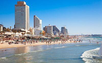 Passover is a fine time to head to a Tel Aviv beach (photo credit: Tel Aviv beach)