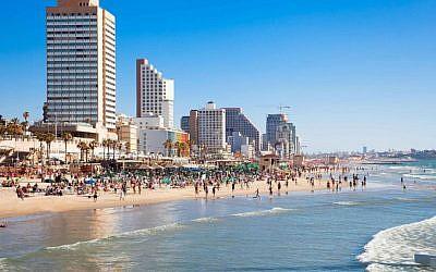 A Tel  Aviv beach (photo credit: Tel Aviv beach)