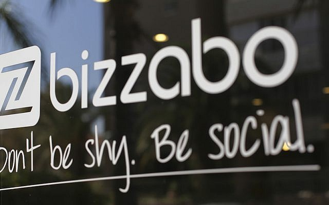 The bizzabo logo, along with the company's credo (Courtesy)