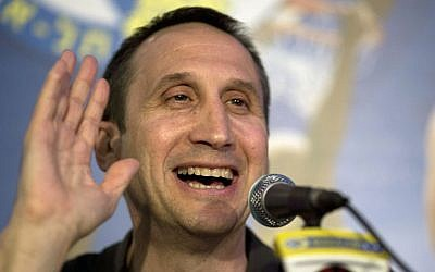 Former Maccabi Tel Aviv coach David Blatt is now headed to the Cleveland Cavaliers (photo credit: AP/Ariel Schalit)