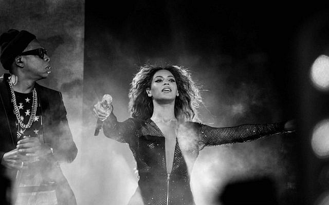 Beyonce and JAY Z perform on the On The Run Tour at the Great American Ball Park on Saturday, June 28, 2014, in Cincinnati, Ohio. (Robin Harper/Parkwood Entertainment/AP Images)