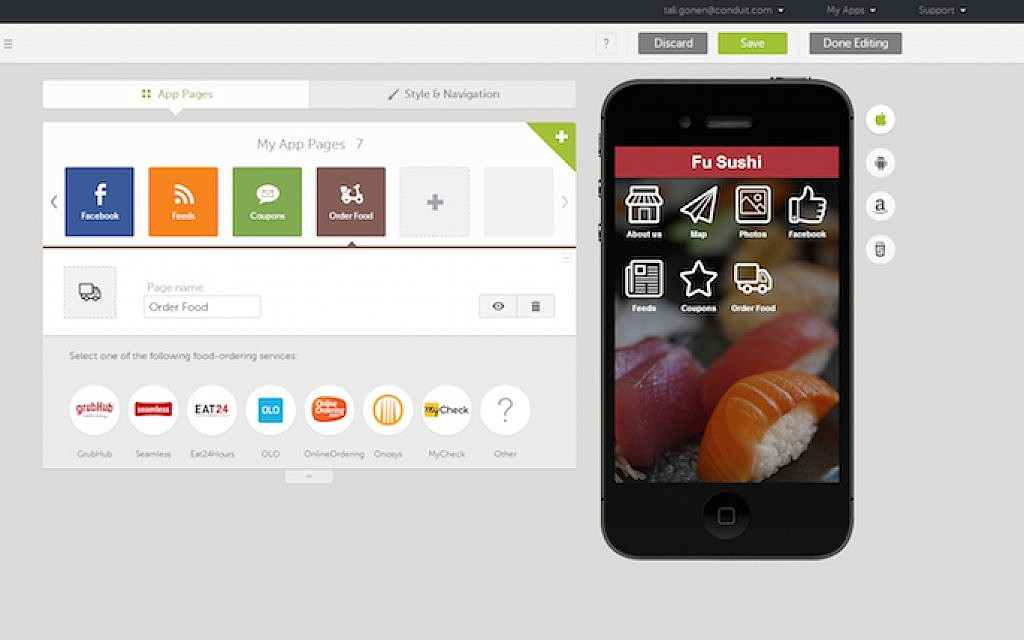 Do-it-yourself, mobile-app maker big hit with business