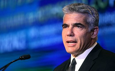 Yair Lapid. (Gideon Markowicz/Flash90)