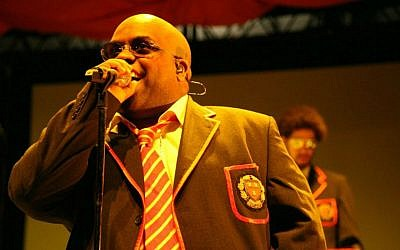 CeeLo Green and DJ Danger Mouse. (photo credit: CC BY/Scott Sandars/Wikimedia Commons)