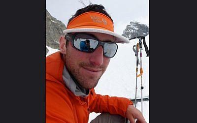 Eitan Green, a Schechter day school alumnus from Needham, Mass., was among six hikers killed on Mount Rainier. (Alpine Ascents International)