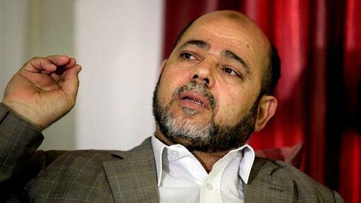 Senior Hamas leader Moussa Abu Marzouk (photo credit: AP Photo/Hatem Moussa)