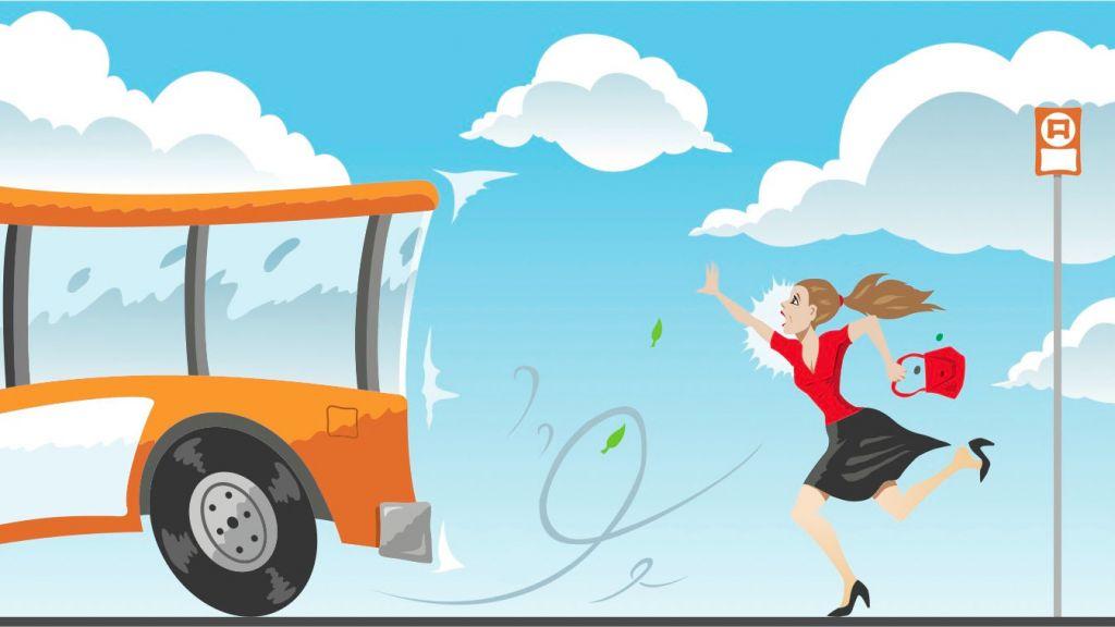 Miss the bus via Shutterstock.