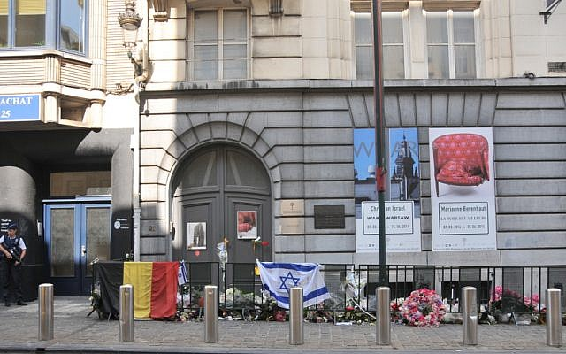 The Jewish Museum of Belgium on Monday, June 2, 2014 (photo credit: Surya Jonckheere/Times of Israel)