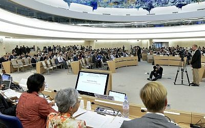 The Human Rights Council in Geneva (UN/Jean-Marc Ferré)