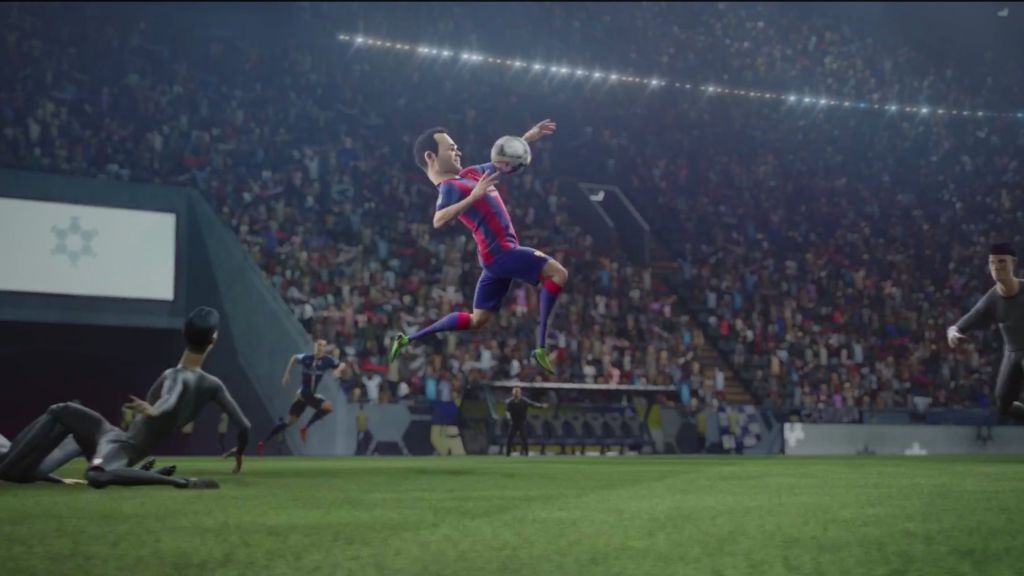 big sale 8c7dd 7f801 A screen capture taken from a Nike spot ahead of the 2014 World Cup. A