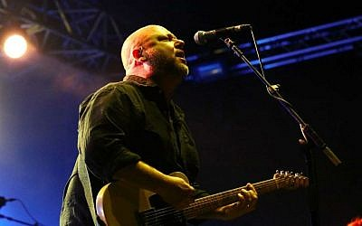 Black Francis of the Pixies, who steamed through a 32-song set to his Tel Aviv audience (photo credit: Orit Pnini)