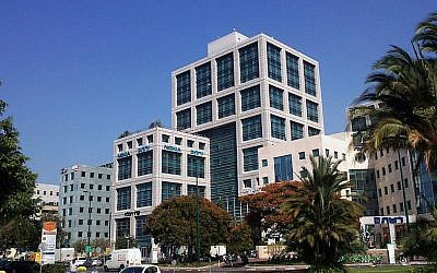 Perion's Tel Aviv headquarters (Photo credit: Courtesy)