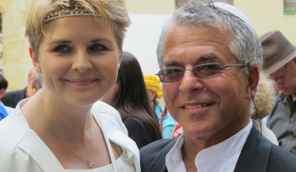 Bride Katka Reszke And Groom Slawomir Grunberg Made Their Wedding A Celebration Of Polish Jewish