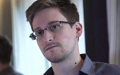 Edward Snowden (YouTube screen capture)