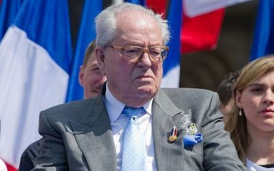 Jean-Marie Le Pen in May 2011. (Photo credit: Jean-Marie Le Pen image  via Shuttershock)