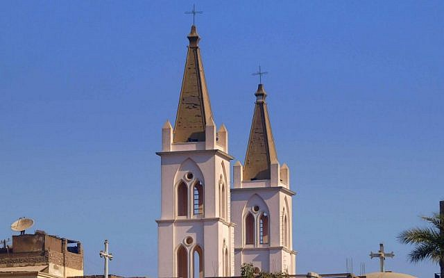 Illustrative image of a church in Luxor (photo credit: Shutterstock)