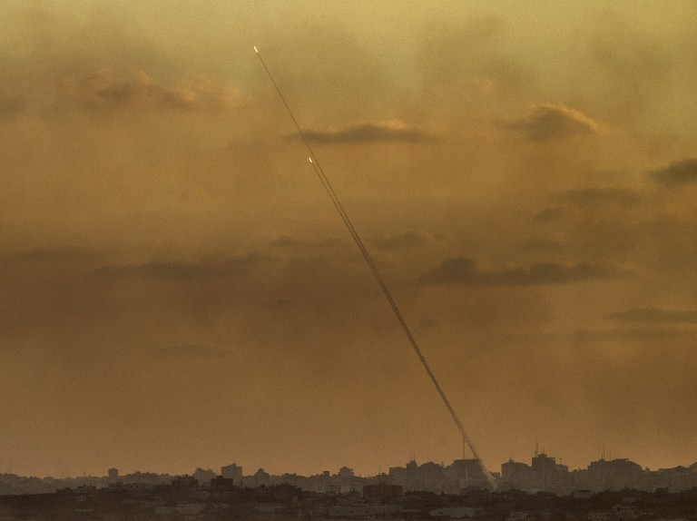 Two rockets fired on Israel land in Gaza