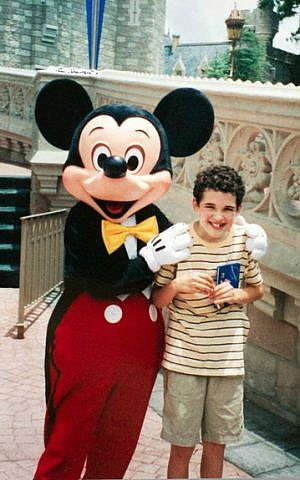 A young Owen Suskind on a visit to Disney World. (Courtesy)