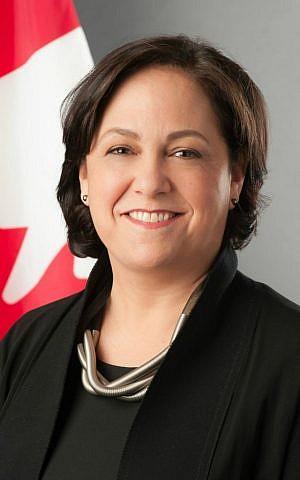 Vivian Bercovici, Canada's ambassador to Israel (photo credit: Timeline photos)