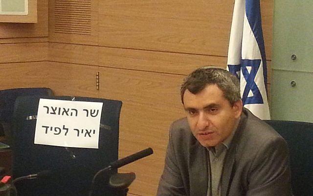 Likud MK Ze'ev Elkin, July 16, 2014 (photo credit: Courtesy)