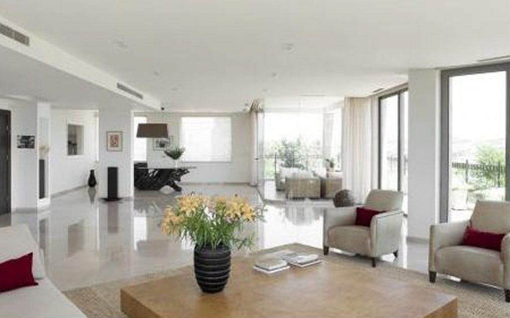 Elegant luxury vacation apartment in Jerusalem (photo: Courtesy)