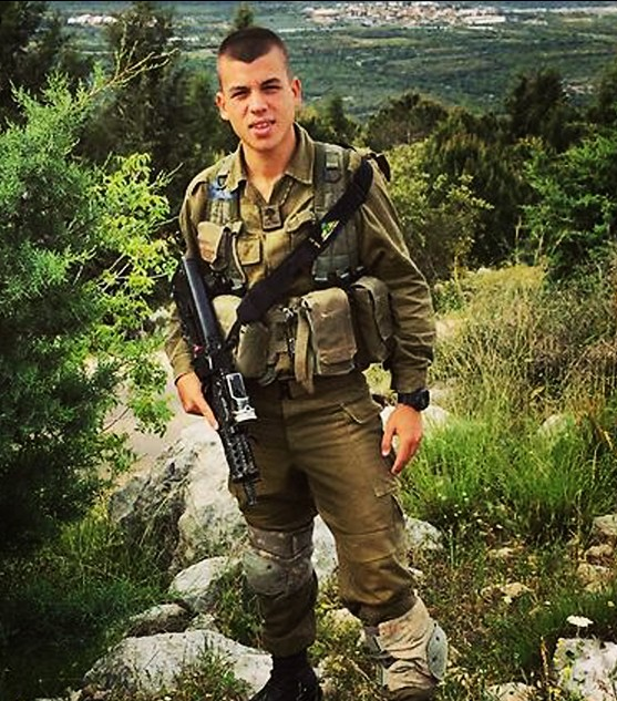 Sgt. Ben Itzhak Oanounou, 19 years old, killed in action during Operation Protective Edge. (Photo credit: IDF)