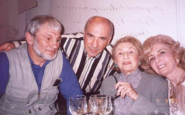 Bel Kaufman (second from right). (Photo credit: Eduard Arzunyan/Wikipedia)