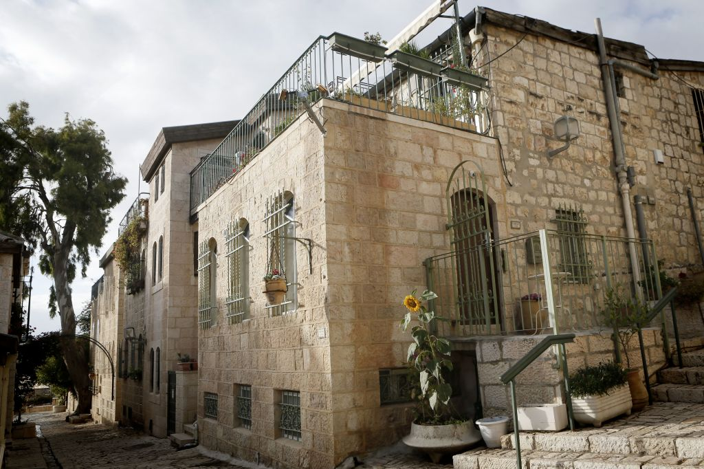 Moses Montefiore had a hard tiime luring residents of the Old City into the then new houses of Mishkenot Sha'ananim (photo credit: Miriam Alter/Flash 90)