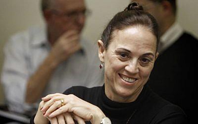 Ex-Yesh Atid MK Ruth Calderon (photo credit: Miriam Alster/Flash90)