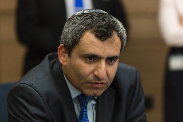 MK Zee'v Elkin (LIkud), chairman of the Foreign Affairs and Defense Committee, in  the Knesset on Monday, May 12, 2014. (photo credit: Flash 90)