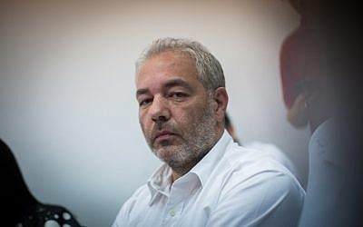 Ronel Fisher seen at the Jerusalem Magistrate's court on July 7, 2014, (photo credit: Yonatan Sindel/Flash90)