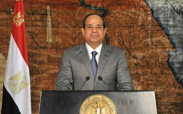 Egyptian President Abdel-Fattah el-Sissi. (AP Photo/Ahmed Fouad, MENA)