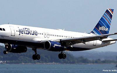 A JetBlue plane (photo credit: JetBlue Captain Ian Duncan)