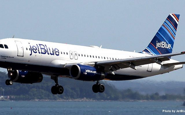 A JetBlue plane (photo credit: JetBlue Captain Ian Duncan)