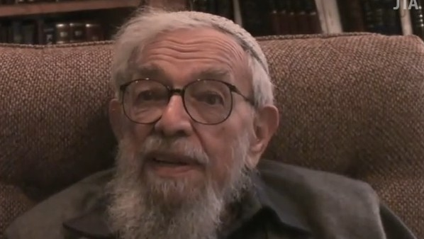 Rabbi Zalman Schachter-Shalomi (screen capture: YouTube)