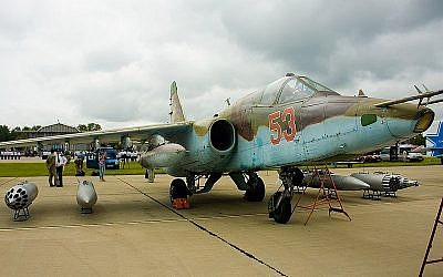 Sukhoi Su-25 (Wikimedia Commons/Dmitry A. Motti CC BY-SA 3.0)